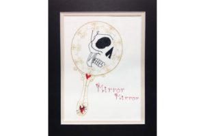 Skull In Mirror