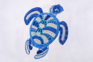 Dark Blue Turtle 2