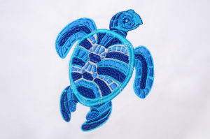 Dark Blue Turtle 1