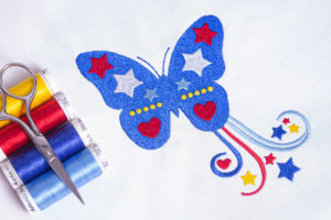 4th of July Butterfly
